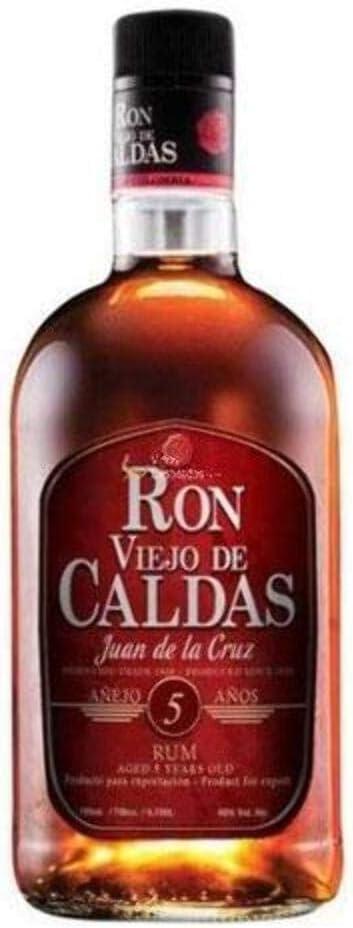 Viejo De Caldas 5 Years Old - Ron, 700 ml: Amazon.es ...