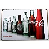 COCA COLA TIN METAL SIGN 20 X 30 CM by Bless