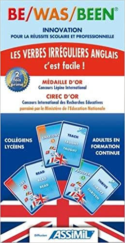 Assimil English Be Was Been Cartes Pour Apprendre Les Verbes Irreguliers 9782952459501 Amazon Com Books