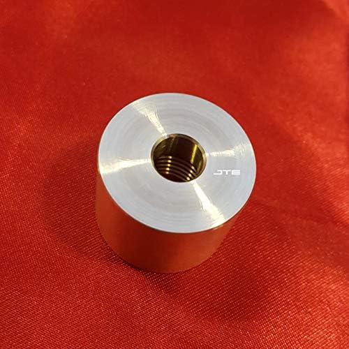 Designed fits for VarioHM EuroSensor EPT3100 Autobahn88 Aluminum Female Weld Bung Silver M10 x 1.0