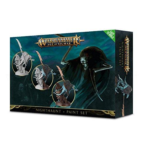 Warhammer Age of Sigmar: Nighthaunt + Paint Set by Warhammer: Age of Sigmar