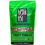 Tiesta Tea Slenderizer, Fruity Pebbles, Strawberry Pineapple Green Tea, Loose Leaf Tea Blend, Medium Caffeine, 1 Pound Bulk Bag