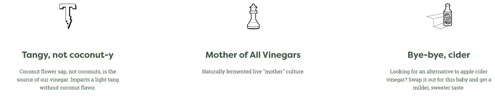 BetterBody Foods Organic Coconut Vinegar, 16.9 oz