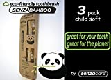 Child Size SenzaBamboo Eco-friendly Toothbrush (soft bristles) (3)