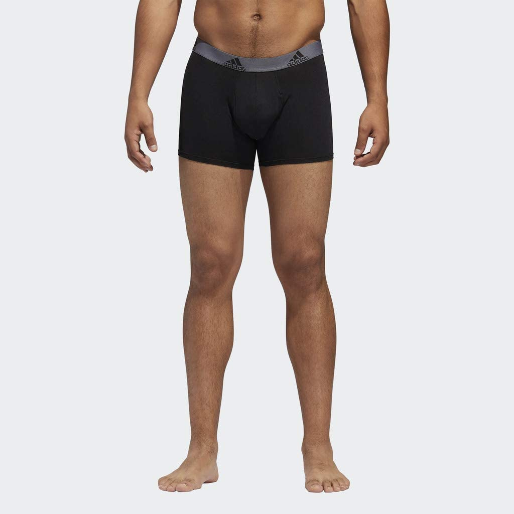 adidas Men's Climalite Trunks Underwear (3 Pack): Clothing