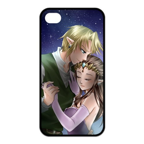 Fayruz- The Legend of Zelda Protective Hard TPU Rubber Cover Case for iPhone 4 / 4S Phone Cases A-i4K101