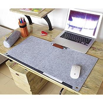 richoose felt desk mat multifunctional felt computer desk pad rh amazon com computer desk maple finish computer desk mahogany