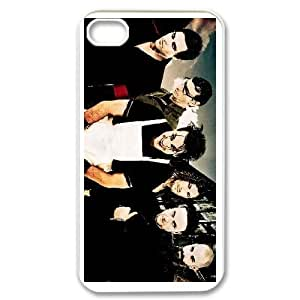iPhone 4,4S Cell Phone Case White Rammstein AFK350346