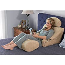 """The Superior Comfort Bed Lounger (For users 5'3"""" and taller, Knee Pillow not included)"""