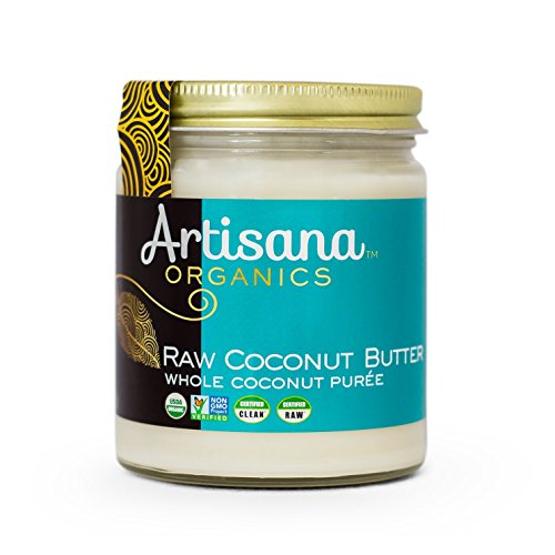 Coconut Spread - Artisana Organics - Coconut Butter, Organic, Certified R.A.W. Spread, No Added Sugar, Non-GMO and Vegan (8 oz)