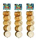"BIRD KABOB Wesco Pet Bird Toy Fiesta (11"" Long x 2.25"" Wide) - Pack of 3"