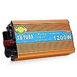 1200W DC 12V to AC 220V Car Power Inverter with USB Charging Port