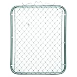 YARDGARD 3 ft. H 5 in. x 4 ft. H Galvanized Steel Walk-Through Fence Gate