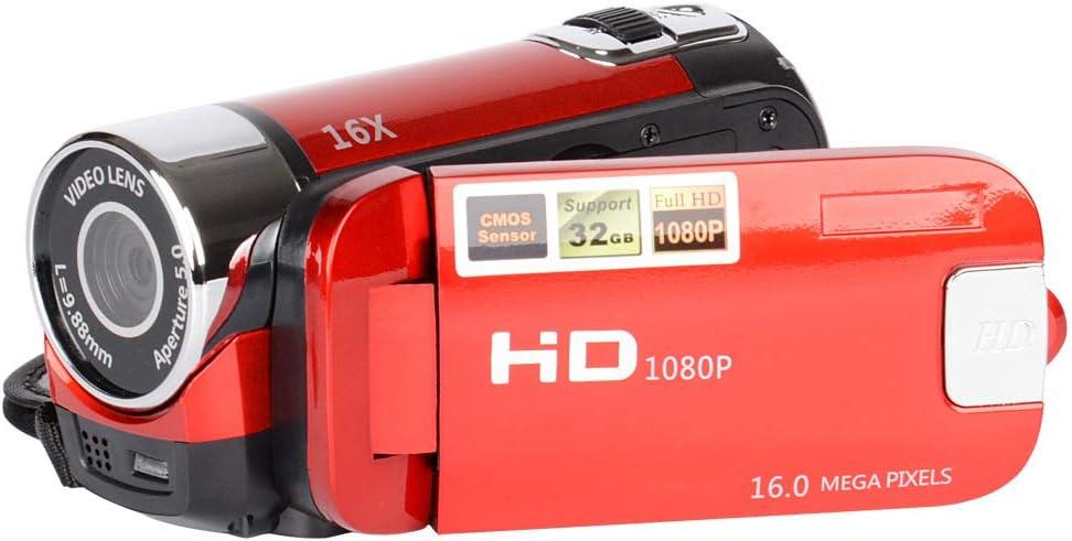 TOPmountain Cámara De Vídeo Digital De 2.7 Pulgadas Y 16 Millones De HD, Videocámara Digital con Cámara De Video LCD 16Mpdv para Exteriores