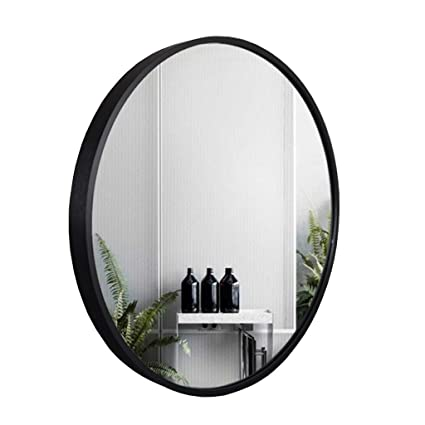 Large Round Decorative Mirror.Amazon Com Large Round Mirror Beautiful Black Wall Mirror