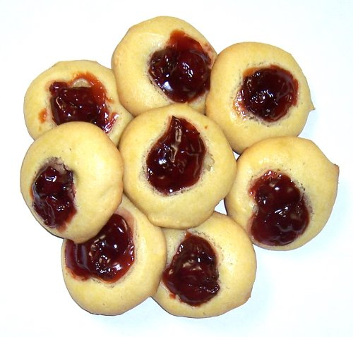 Scott's Cakes Cherry Butter Cookies in a 1 Pound Plastic Deli Container (Cookies Boxed Butter)