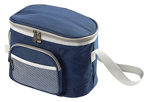 Greenfield Collection 8L Luxury Lightweight Cool Bag - Midnight Blue by Greenfield Collection
