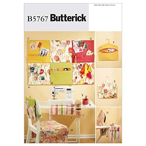 Room Decor Sewing Pattern - BUTTERICK PATTERNS B5767 Sewing Room Organizers, Size No Size