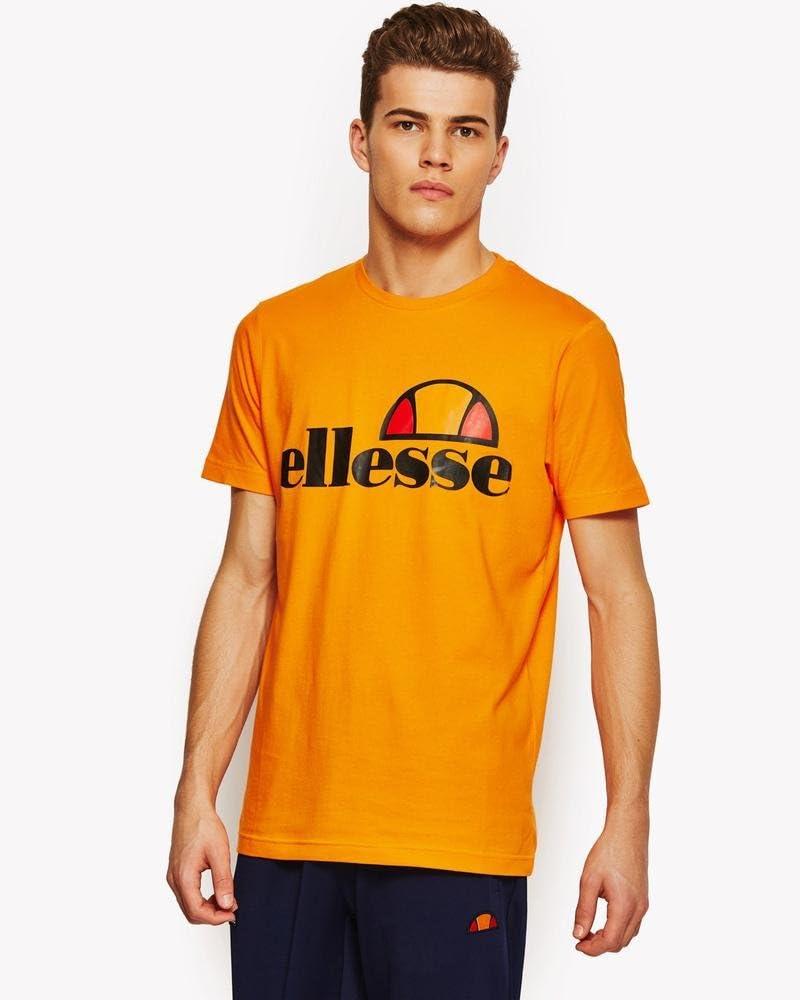 ellesse Prado, T shirt Homme Orange (orangepop) XXL