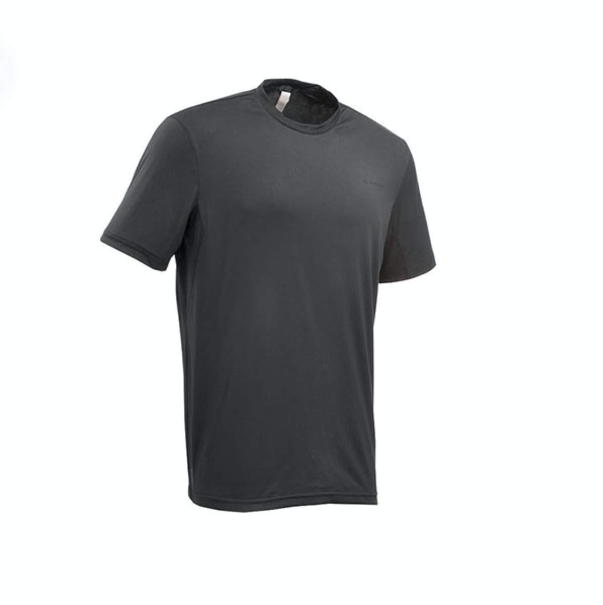 Black, Grey, blueee XL Men's Sportswear Running Fitness Sports Screw Neck Quick Dry Short Sleeve TShirts 3 Pieces