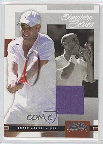 Andre Agassi #161/500 (Trading Card) 2005 Ace Authentic Signature Series - [Base] - Jerseys [Memorabilia] #11 - Andre Agassi Memorabilia