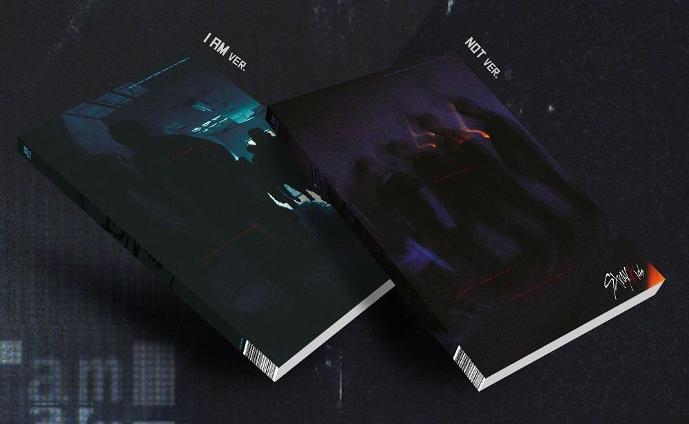 JYP Entertainment Stray Kids - I am NOT [I AM + NOT ver. Set] (1st Mini Album) 2CD+Photobook+3Photocards by JYP Entertainment (Image #1)