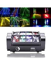 KT Stage Light DMX512 Beam Head Spiderlicht, 60 W, mini-spin, podium, beam licht, RGBW, mini-spider, podium, straal, voor DJ, disco, bruiloft, bar, club, verjaardag, feest