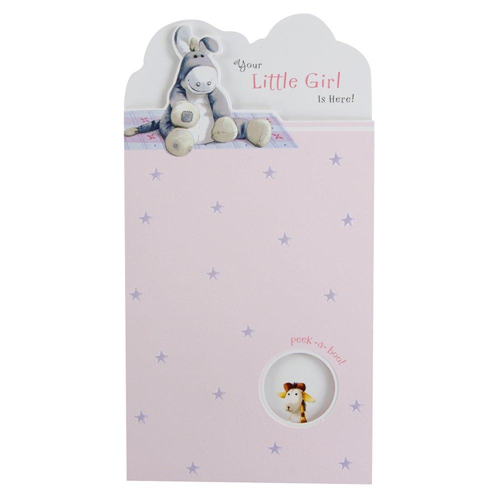 Hallmark, Biglietto di auguri per nascita, per bambina, misura media, sottile 10251903