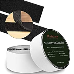 1 In x 32 Ft Self Adhesive Hook and Loop Fastening Strips Roll Needed for Your Home, Office, Outdoor Space and School                 Why should choose Holotap Hook and Loop Tape Roll?              Cut into the length you want: The se...