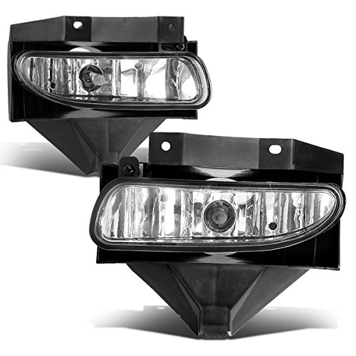 Clear Mustang Corner Lights - For Ford Mustang New Edge Pair of Bumper Driving Fog Lights (Clear Lens)