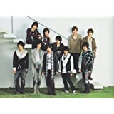 クリアファイル ★ Hey!Say!JUMP 2009-2010 「Hey! Say! JUMP WINTER CONCERT 09-10」