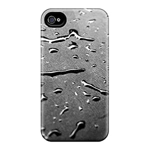 Hot Drops Texture First Grade Tpu Phone Case For Iphone 4/4s Case Cover