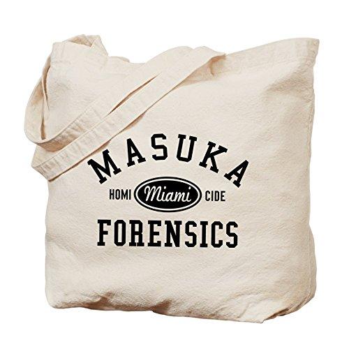 Cafepress–Masuka Forensics Tote bag–Borsa di tela naturale, tessuto in iuta