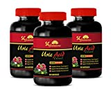 antioxidant Supplement - URIC Acid EXTRACTS 1430 MG - Urinary Tract - 3 Bottles (180 Capsules)