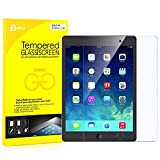 JETech Apple iPad Air, iPad Air 2, iPad Pro 9.7, the New iPad 9.7 (2017) Tempered Glass Screen Protector Film