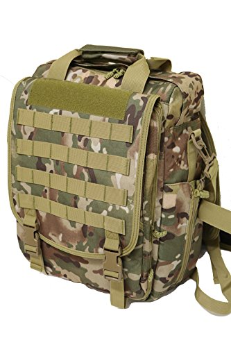 (Multifunction Military Tactical Laptop Case / Bag (OCP))