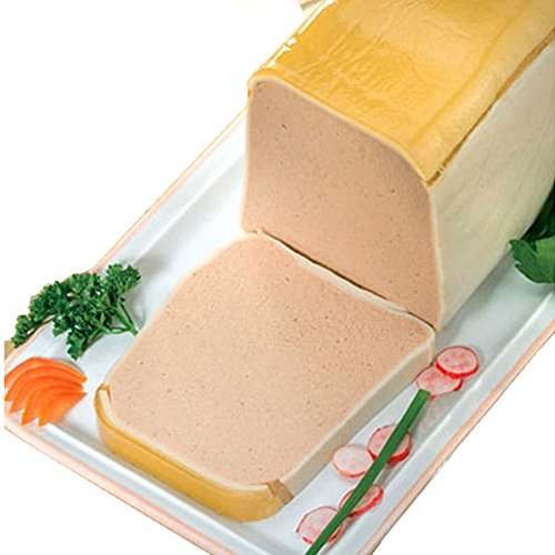 Duck Foie Gras Mousse Marinated in Port Wine - Pork-Free - 3.5Lbs Terrine
