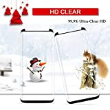 Besprotek Screen Protector for Galaxy S8 Plus, 2-Pack Tempered Glass Premium High Definition Clear, Anti-Scratch / Fingerprint 3D Curved Edge for Galaxy S8 Plus (S8 Plus - 2Pack)
