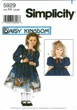 UNCUT SIMPLICITY DAISY KINGDOM GIRLS DRESSES /& DOLL CLOTHES SEWING PATTERNS