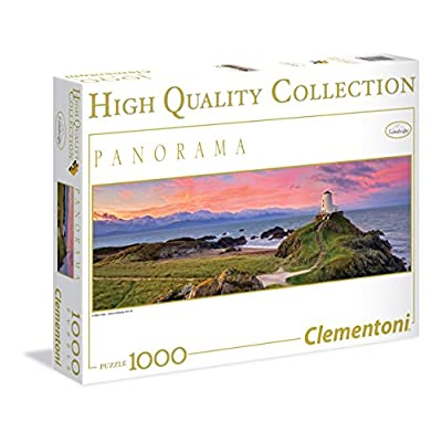 Clementoni 39342 Puzzle Panorama Mark Gray 1000 Pezzi Multicolore