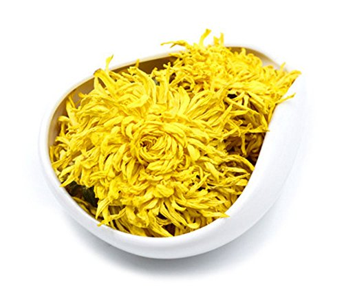 Chinese Chrysanthemum Tea Organic Dried Flower Tea Loose Leaf Herbal Tea by BrightTea