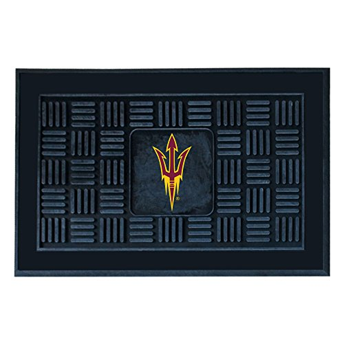 Fanmats NCAA Arizona State University Sun Devils Vinyl Door Mat State University Door