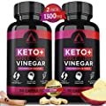 (2 Pack | 120 Capsules) Organic Keto Diet Pills + Apple Cider Vinegar with MCT Oil & BHB Supplement - Best Advanced Keto Max Boost ACV Diet Pills from Shark Tank - Exogenous Ketones for Women Men