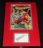 Joan Van Ark Signed Framed 1979 Spider Woman Comic Book Display - Autographed NFL Magazines