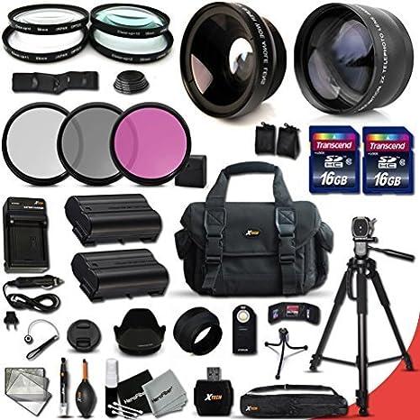 XTECH Ultimate 32 piezas Kit de accesorios para Nikon D750, Nikon ...