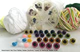 Craft Sewing Safety Eyes & Noses Asst. Gift Set Sew Crochet Amigurumi STBEON