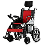 Heavy Duty Electric Wheelchair, Foldable And Lightweight Powered Wheelchair, 360° Joystick W/USB Charging Port, Weight Capacity 100KG