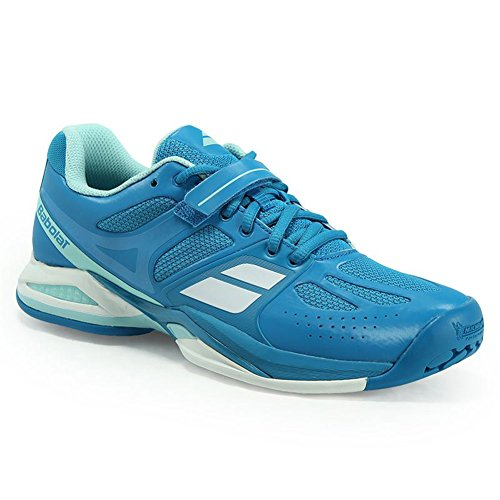 Babolat Women's Propulse AC Tennis Shoes (Blue) (5.5 B(M) US)