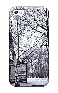 ChrisWilliamRoberson WeCxRTI2904OIxMV Protective Case For Iphone 5/5s(abandoned Wood Cabin In The Winter Forest)