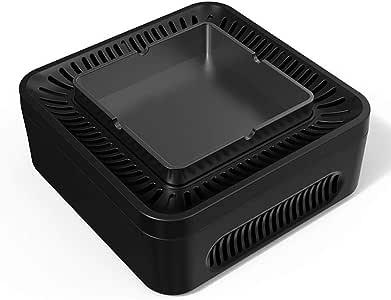 YTBLF Cuadrante Iones Negativos Carga USB Purificador Aire ...